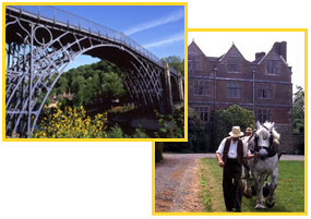 Acton Scott and Ironbridge Shropshire offers