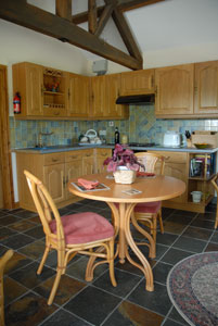 Holiday let kitchen Craven Arms Shropshire